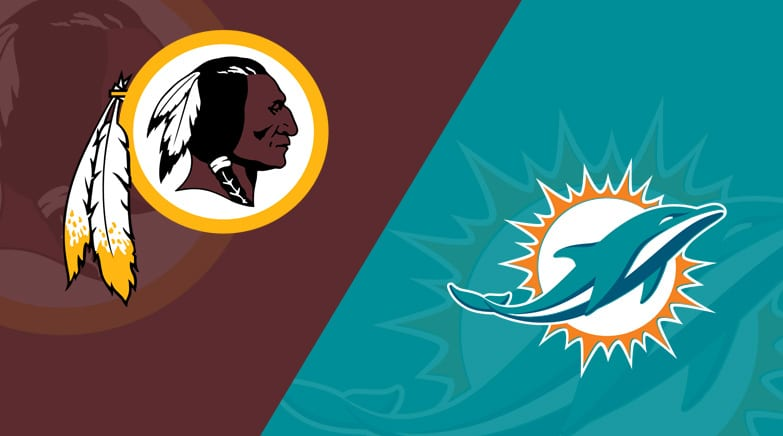 Image result for dolphins vs redskins