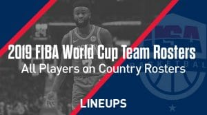 FIBA 2019 World Basketball Team Rosters