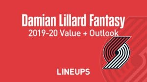 Damian Lillard Fantasy Outlook & Value 2019-20