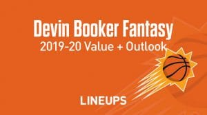 Devin Booker Fantasy Outlook & Value 2019-2020