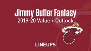 Jimmy Butler Fantasy Outlook & Value 2019-2020