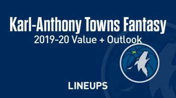 Karl-Anthony Towns Fantasy Outlook & Value 2019-20