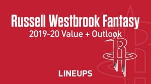 Russell Westbrook Fantasy Outlook & Value 2019-20