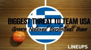 The Biggest Threat to Team USA: Greece Basketball Team