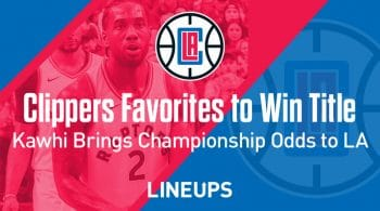 Clippers Enter 2019-2020 Season As Favorites to Win NBA Championship
