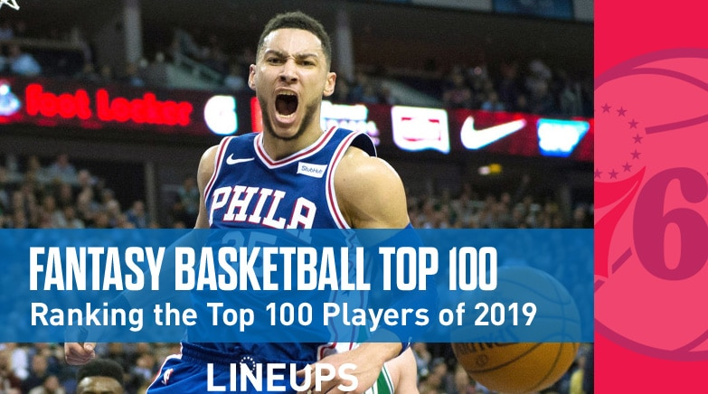 2020 Home Run Projections.2019 Fantasy Basketball Top 100 Rankings