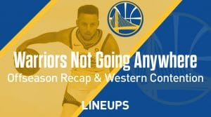 Golden State Warriors Are Not Going Anywhere: 2019 Offseason Recap