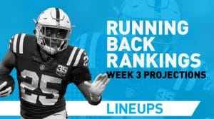 Week 3 RB Rankings PPR: Running Back Fantasy Stats & Projections