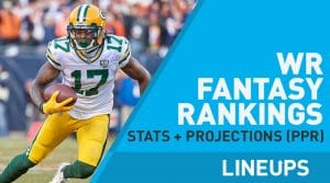 Week 3 WR Rankings PPR: Wide Receiver Fantasy Stats & Projections