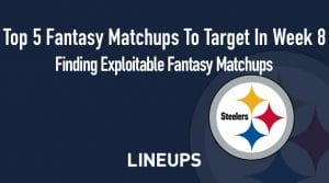 Top 5 Fantasy Matchups to Target in Week 8