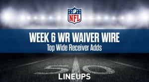 Week 6 WR Waiver Pickups & Adds: Fantasy Football FAAB Bids, % Owned