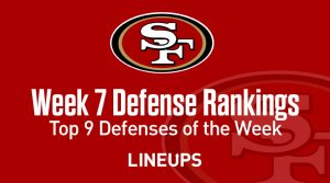 Top 9 Fantasy Football Defense Rankings for Week 7