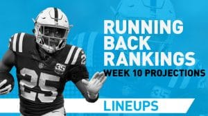 Week 10 RB Rankings PPR: Running Back Fantasy Stats & Projections