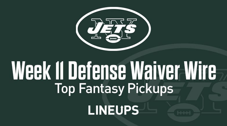 How Long Does Def Last >> Week 11 Defense Def Dst Waiver Wire Pickups Fantasy Streamers