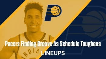 Pacers Finding Groove As Schedule Toughens