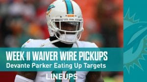 Week 11 Waiver Wire Pickups & Adds: Fantasy Football 2019