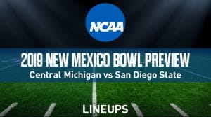 New Mexico Bowl (12/21/19): Central Michigan vs. San Diego State