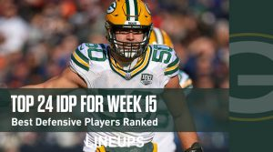 Top 24 Defensive Players (IDP) For Week 15: Danielle Hunter Has Big Upside Against The Chargers