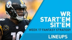 Week 17 WR Start, Sit Fantasy Strategy: D.J. Chark To Finish Season On High Note