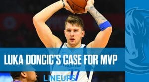 A look at Luka Doncic's early MVP candidacy prior to return to court tonight