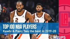 Top 100 Players Of The 2019-20 NBA Season