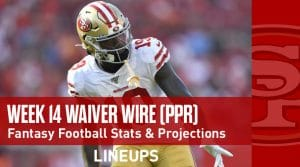 Week 14 Waiver Wire Top Pickups & Adds: James Washington Continues To Produce