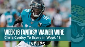 Week 16 Waiver Wire Top Pickups & Adds: Chris Conley To Finish Season Strong