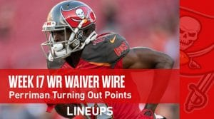Week 17 WR Waiver Pickups & Adds: John Ross Coming Off Monster Volume Game