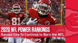 NFL Power Rankings 2020: Kansas City Comes In At Number One