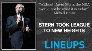 David Stern took NBA to new heights