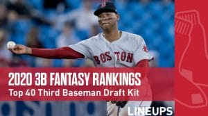 2020 Fantasy Baseball Third Base Rankings Top 40: Eduardo Escobar Brings Mid-Round Value