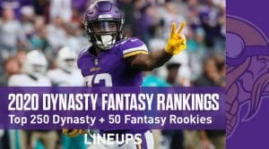 2020 Top 250 Dynasty Rankings + Top 50 Rookie Rankings