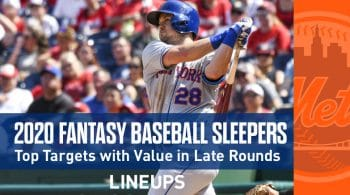 2020 Fantasy Baseball Sleepers & Late Round Values: J.D. Davis on the Radar