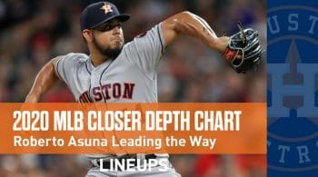 2020 MLB Closer Depth Chart: Who Are the Top MLB Closers?