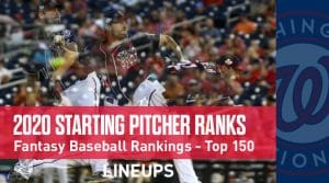 2020 Fantasy Baseball Starting Pitcher Rankings Top 150: Walker Buehler Climbing The Ladder