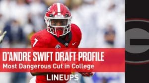 D'Andre Swift NFL Draft Profile: A Filthy Cut and Speed to Kill (Scouting Report)