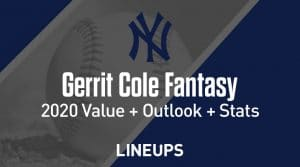 Gerrit Cole Fantasy Baseball Outlook & Value 2020