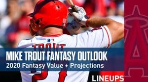 Mike Trout Fantasy Baseball Outlook & Value 2020