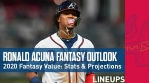 Ronald Acuna Jr. Fantasy Baseball Outlook & Value 2020