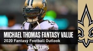 Michael Thomas Fantasy Football Outlook & Value 2020