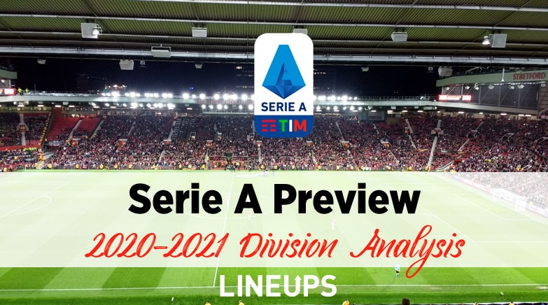 2020 2021 Serie A Rankings Preview Juventus To Continue Domination
