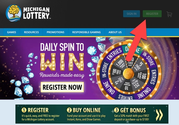 2019 Michigan Lottery Promo Code: LINEUPS $100 Free Bet + 10 Games