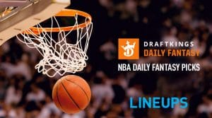 NBA DraftKings DFS Lineup Picks 11/19/19