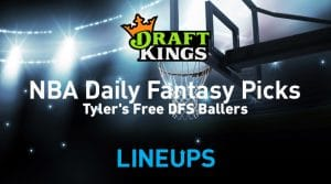 NBA DraftKings DFS Lineup Picks 11/18/19