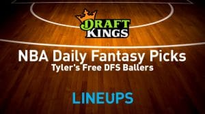 NBA DraftKings DFS Lineup Picks 1/24/20
