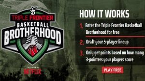 DraftKings Launches Basketball Brotherhood Contest Presented by NETFLIX