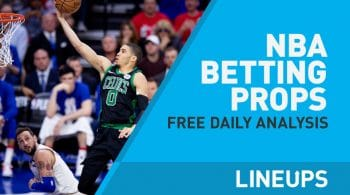 Free NBA Betting Props: Picks + Analysis 3/21/19