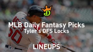 DraftKings MLB Daily Fantasy Picks 9/23/19