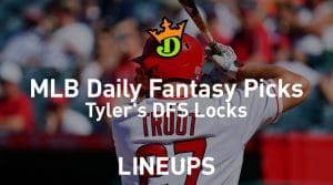 DraftKings MLB Daily Fantasy Picks 9/24/19