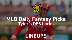 DraftKings MLB Daily Fantasy Picks 7/16/19